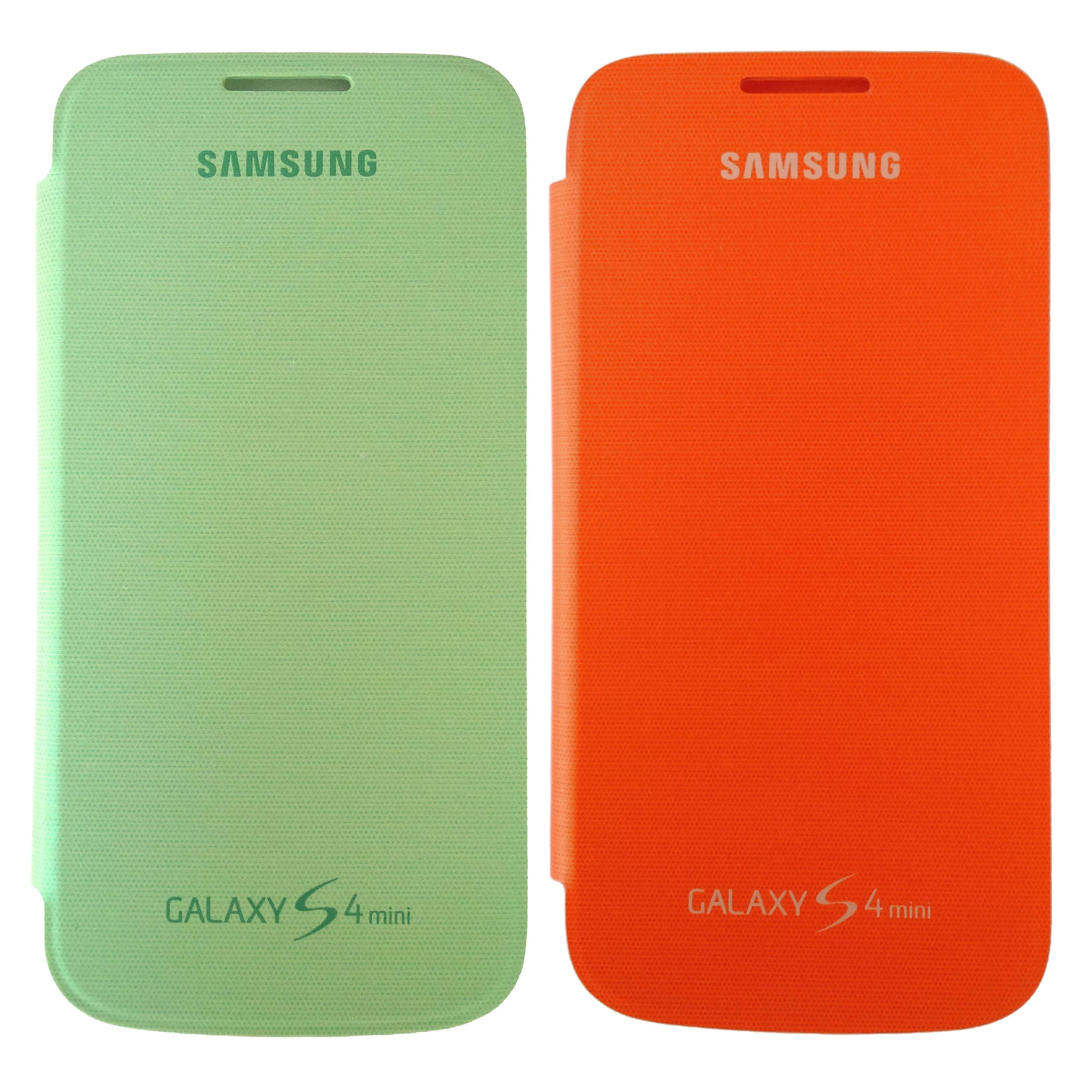 Samsung Case EF-FI919BXEGWW Flip Cover, Galaxy S4 Mini, 2-er Set ...